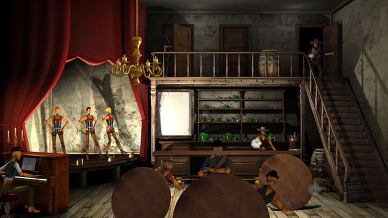 Vous visionnez les images des références : Desperados - The Sheriff Academy